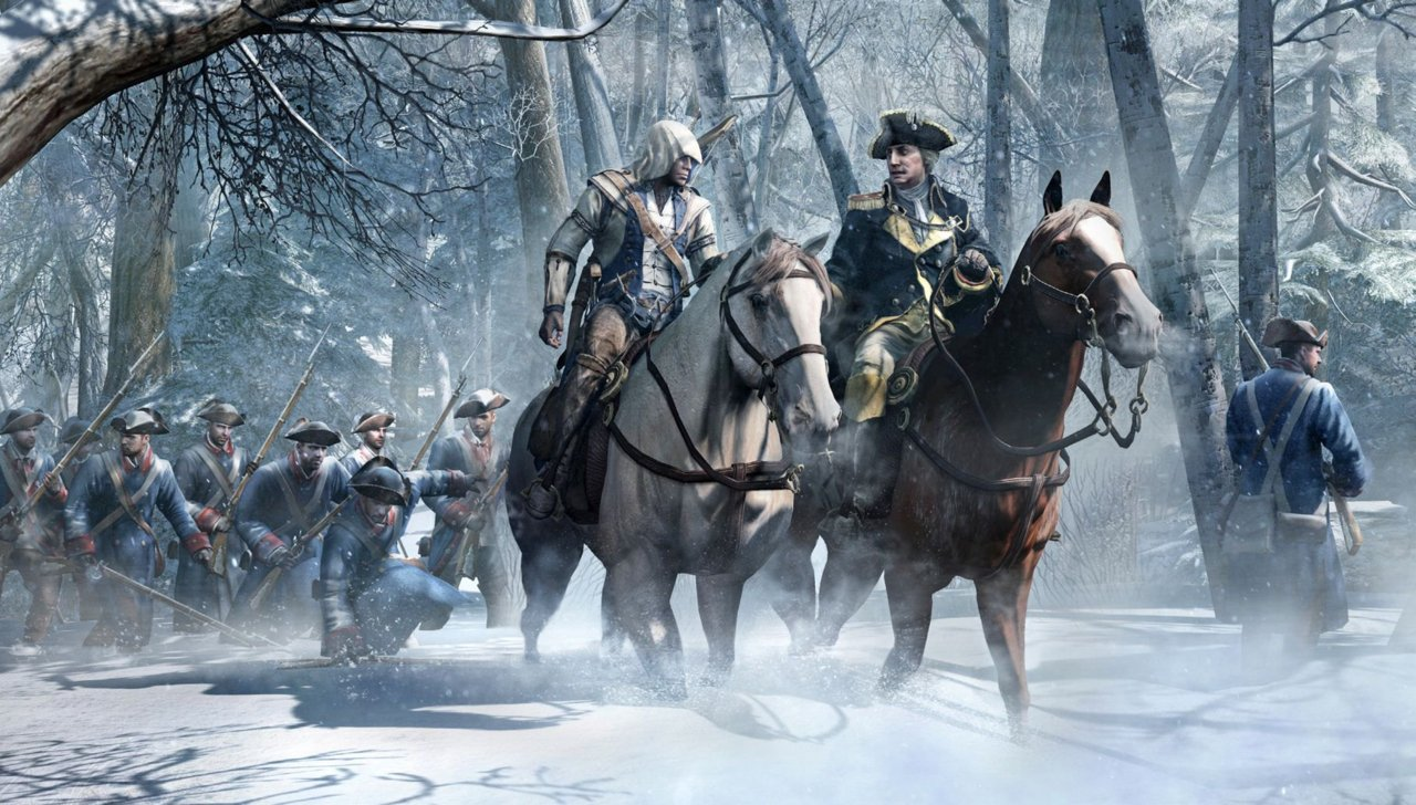 Cool Wallpaper Horse Dual Screen - assassins_creed_3_oxcgn_screenshot-5  Graphic_394124.jpg