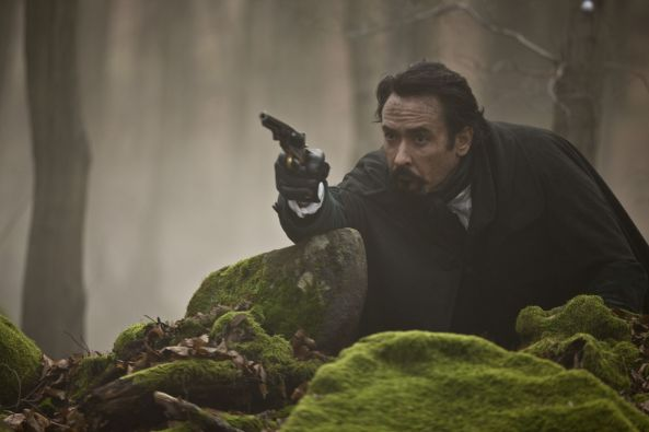 John Cusack stars in Relativity Media's stylish gothic thriller The Raven.